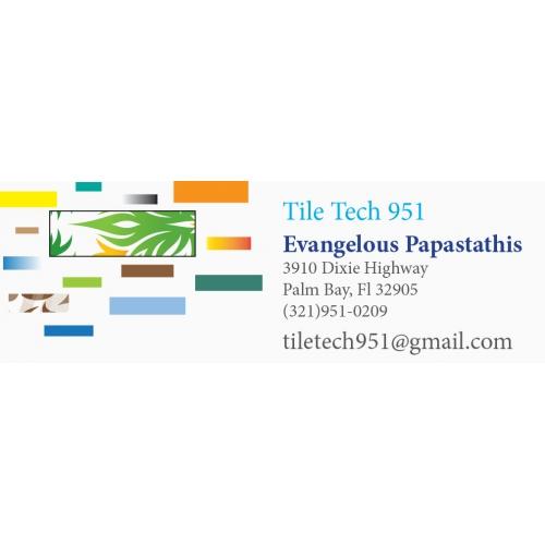 tile tech business card