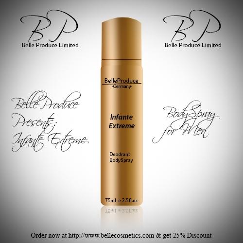 Belle-produce Body Spray Advert