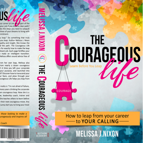 Book cover: The Courageous Life