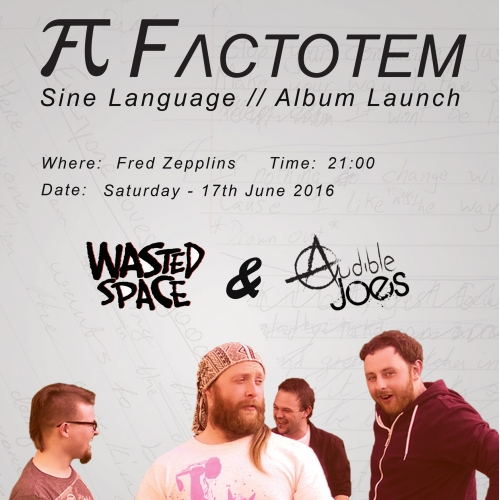 Factotem Album Launch Poster