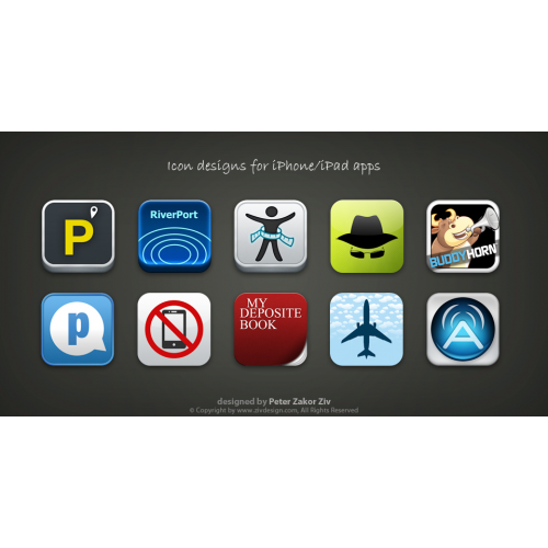 iPhone and iPad launch icons