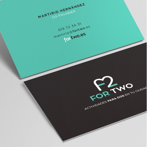 For Two - Corporate Identity / Branding - Logo Design