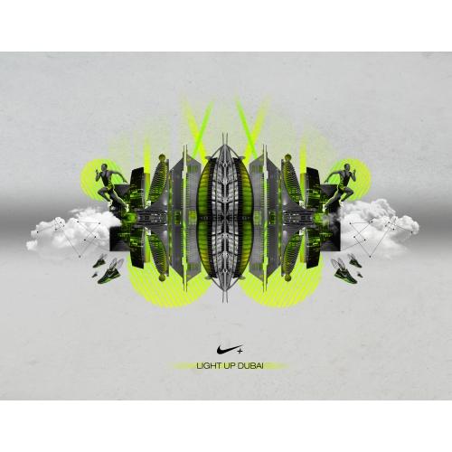 Nike - Light Up Dubai